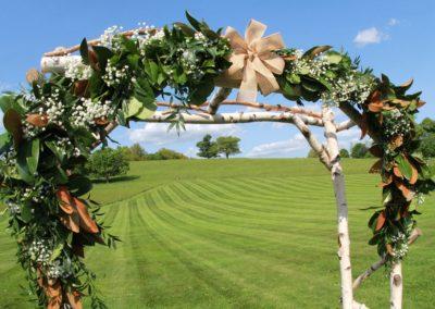 wedding-ceremony-flower-garland-dunstable-ma